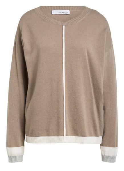 SEM PER LEI Pullover , Farbe: TAUPE (Bild 1)