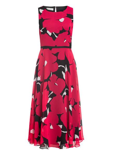 HOBBS Kleid CARLY, Farbe: DUNKELROT/ SCHWARZ/ WEISS (Bild 1)