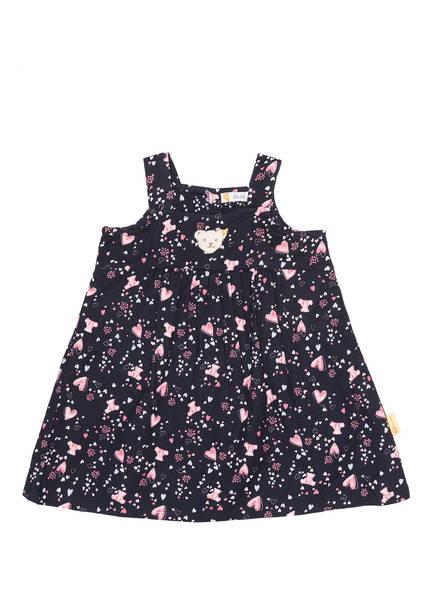 Steiff Kleid, Farbe: DUNKELBLAU/ ROSA (Bild 1)