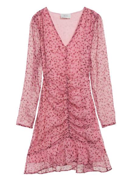 NEO NOIR Kleid FUNDA FAIRY mit Glitzergarn, Farbe: ROSA/ DUNKELROT (Bild 1)