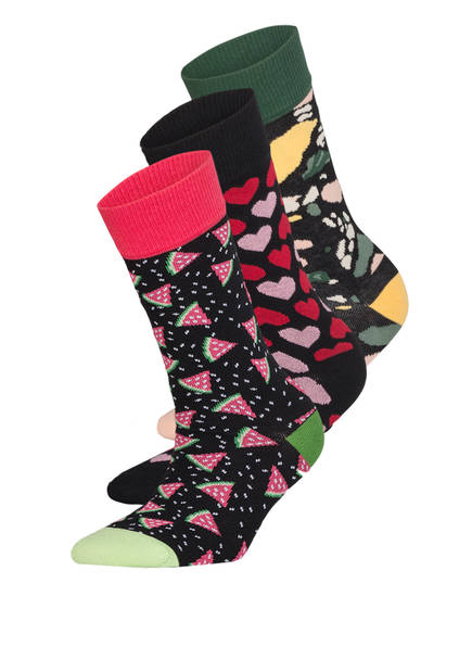 DillySocks 3er-Pack Socken LOVE NIGHT, Farbe: MULTI MULTI (Bild 1)