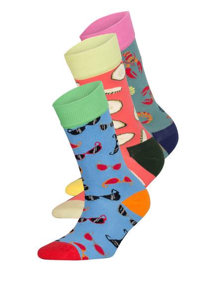 DillySocks 3er-Pack Socken SUMMER BEACH, Farbe: MULTI MULTI (Bild 1)