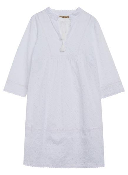 Smith&Soul Kleid mit 3/4-Arm, Farbe: WEISS (Bild 1)