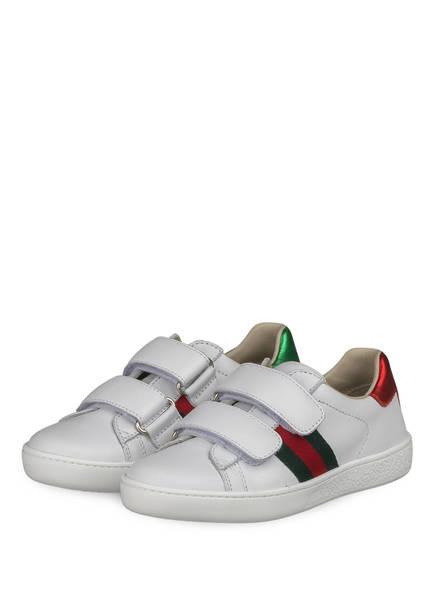 GUCCI Sneaker, Farbe: GR.WHITE/ VRV/ ROS/ B.S (Bild 1)