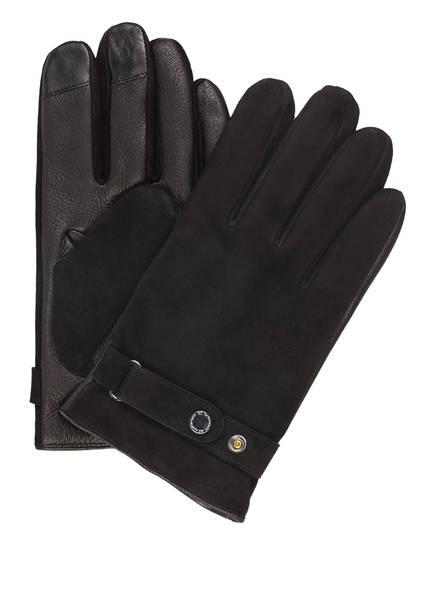 NN07 Handschuhe in Lederoptik, Farbe: SCHWARZ (Bild 1)