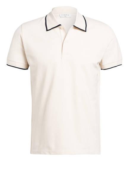 sandro Piqué-Poloshirt Slim Fit, Farbe: BEIGE (Bild 1)