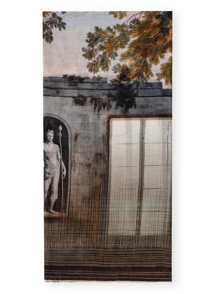 Faliero Sarti Schal, Farbe: GRAU/ GRÜN (Bild 1)