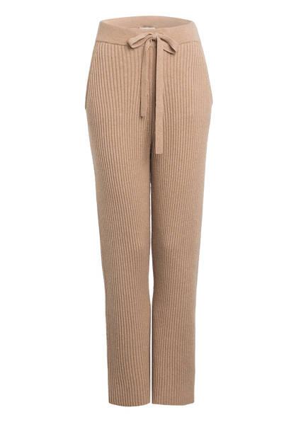 DOROTHEE SCHUMACHER 7/8-Hose im Joggingstil mit Cashmere, Farbe: BEIGE (Bild 1)