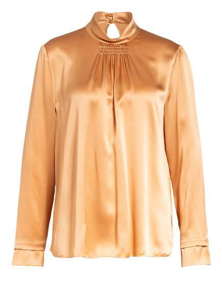 MARCCAIN Blusenshirt aus Seide , Farbe: 652 apricot beige (Bild 1)