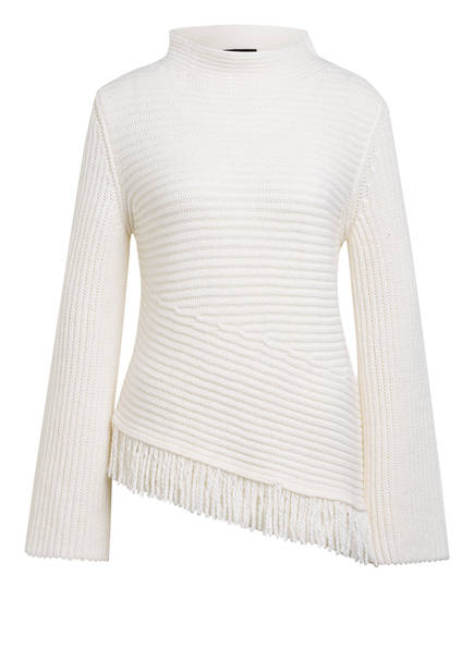 MARC CAIN Pullover mit Alpaka, Farbe: WEISS (Bild 1)