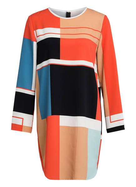 MARCCAIN Kleid, Farbe: ORANGE/ SCHWARZ/ BLAU (Bild 1)