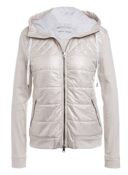 MARC CAIN Hybrid-Steppjacke, Farbe: 151 lighted grey (Bild 1)