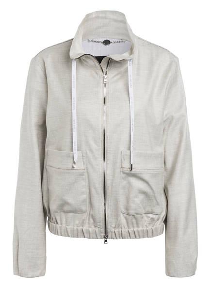 MARC CAIN Jacke mit Schmucksteinbesatz, Farbe: 810 silver grey (Bild 1)
