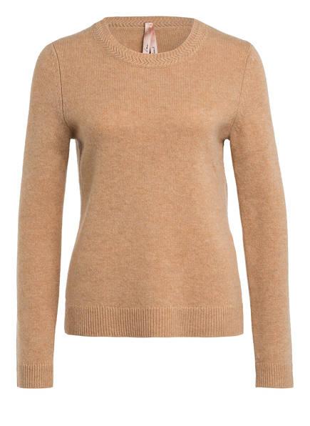 MARC CAIN Pullover mit Cashmere , Farbe: CAMEL (Bild 1)