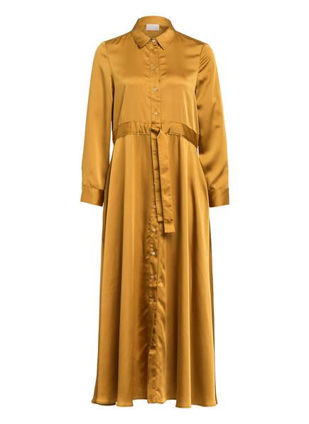 Mrs & HUGS Hemdblusenkleid , Farbe: DUNKELGELB (Bild 1)