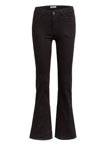 MOSS COPENHAGEN Flared Jeans SIGGA, Farbe: BLACK (Bild 1)