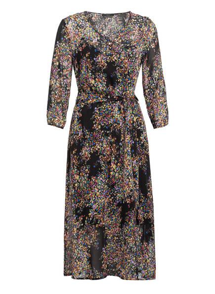 SET Kleid, Farbe: SCHWARZ/ LILA/ GRÜN (Bild 1)