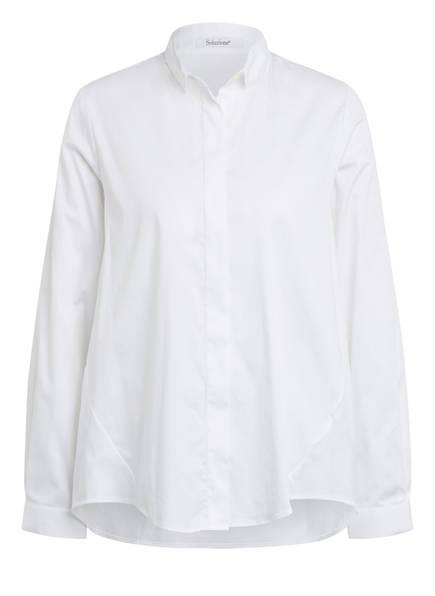 Soluzione Oversized-Hemdbluse, Farbe: WEISS (Bild 1)