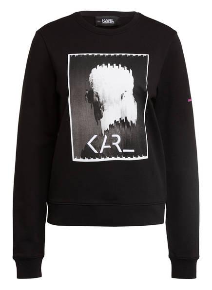 KARL LAGERFELD Sweatshirt LEGEND, Farbe: SCHWARZ (Bild 1)