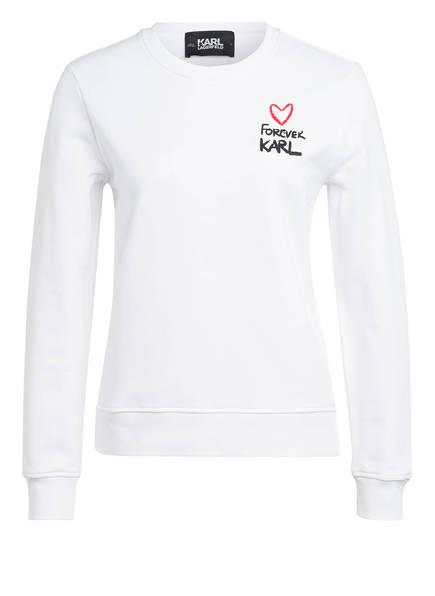 KARL Sweatshirt FOREVER KARL, Farbe: WEISS (Bild 1)