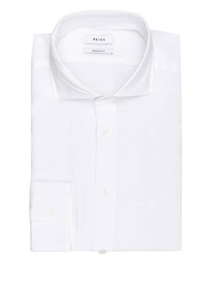 REISS Leinenhemd RUBAN Regular Fit, Farbe: WEISS (Bild 1)