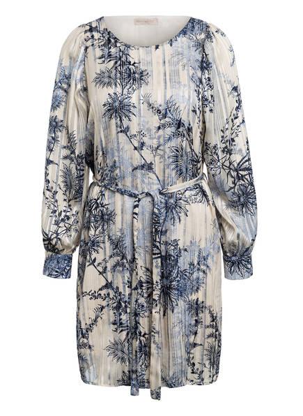 RINASCIMENTO Kleid mit Glitzergarn, Farbe: BLAU/ ECRU (Bild 1)