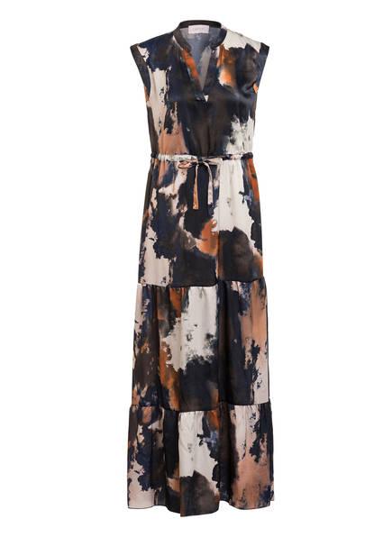 CARTOON Kleid, Farbe: DUNKELBLAU/ CREME/ ORANGE (Bild 1)