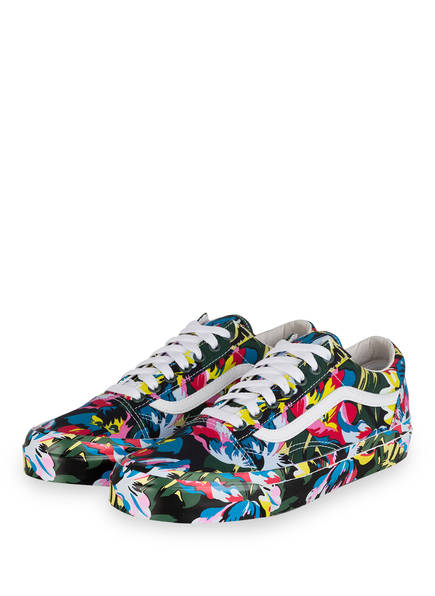 KENZO Sneaker OLD SKOOL , Farbe: GRÜN/ TÜRKIS/ GELB (Bild 1)