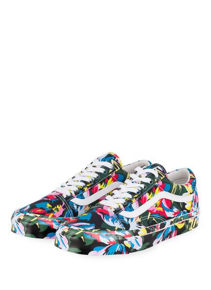 KENZO Sneaker, Farbe: ROSA/ GELB/ DUNKELGRÜN (Bild 1)