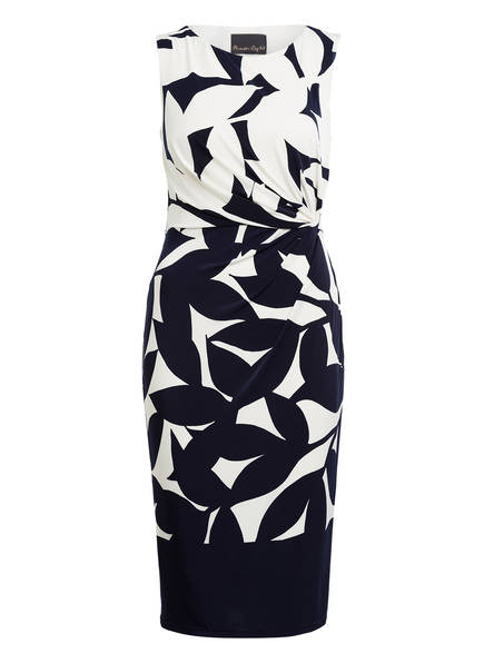 Phase Eight Kleid BARBARA, Farbe: DUNKELBLAU/ IVORY (Bild 1)