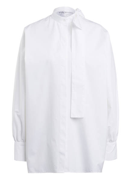 EVA MANN Oversized-Hemdbluse ISABELLE, Farbe: WEISS (Bild 1)