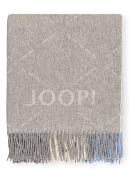 JOOP! Plaid SENSUAL SIGNATURE, Farbe: GRAU/ TAUPE (Bild 1)