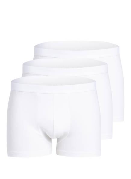 CALIDA 3er-Pack Boxershorts NATURAL BENEFIT , Farbe: WEISS (Bild 1)