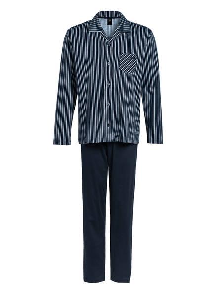 CALIDA Schlafanzug RELAX IMPRINT, Farbe: DUNKELBLAU (Bild 1)