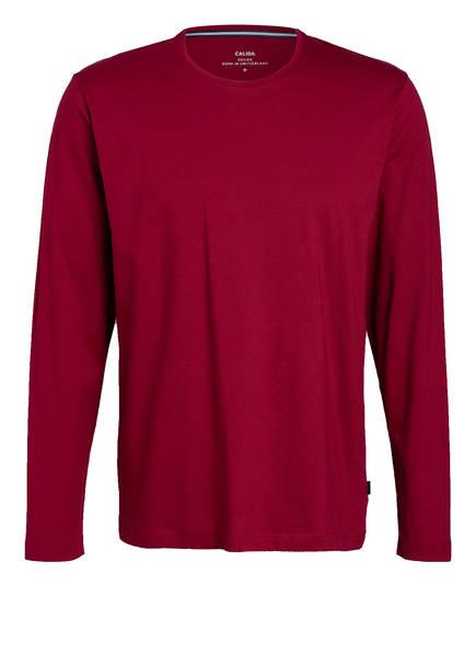 CALIDA Lounge-Shirt REMIX BASIC, Farbe: DUNKELROT (Bild 1)