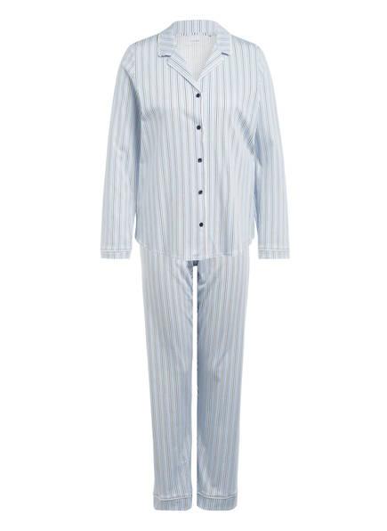 CALIDA Schlafanzug , Farbe: HELLBLAU/ WEISS/ DUNKELBLAU (Bild 1)