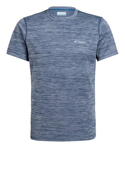 Columbia T-Shirt ZERO RULES™, Farbe: BLAU MELIERT (Bild 1)