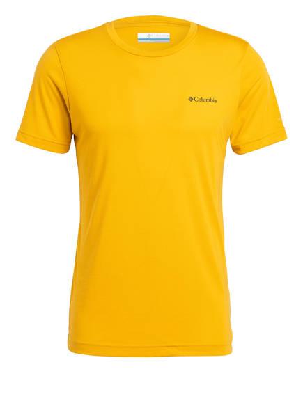 Columbia T-Shirt MAXTRAIL™, Farbe: DUNKELGELB (Bild 1)