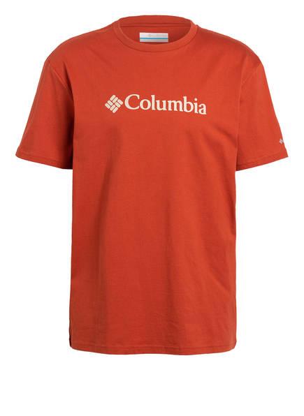 Columbia T-Shirt, Farbe: DUNKELORANGE (Bild 1)