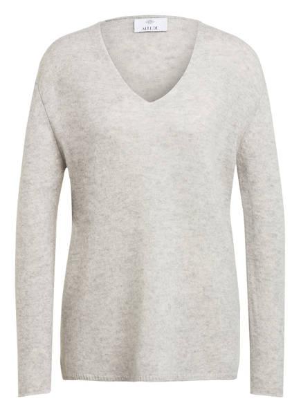 ALLUDE Cashmere-Pullover, Farbe: HELLGRAU (Bild 1)