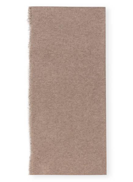 SEM PER LEI Cashmere-Schal, Farbe: TAUPE (Bild 1)