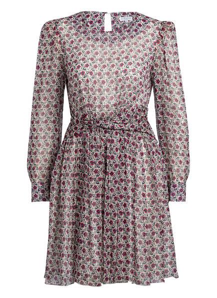 CLAUDIE PIERLOT Kleid ROSSA, Farbe: WEISS/ SCHWARZ/ PINK (Bild 1)