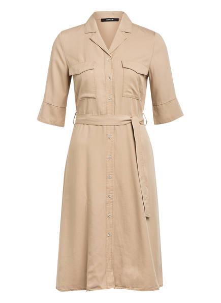 OPUS Hemdblusenkleid WULITA, Farbe: BEIGE (Bild 1)