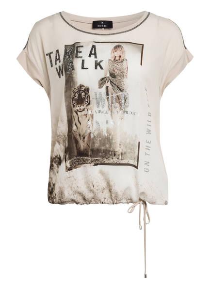 monari T-Shirt mit Schmucksteinbesatz, Farbe: CREME (Bild 1)