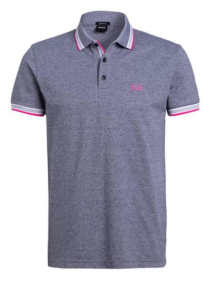 BOSS Piqué-Poloshirt PADDY Regular Fit, Farbe: BLAU/ GRAU (Bild 1)