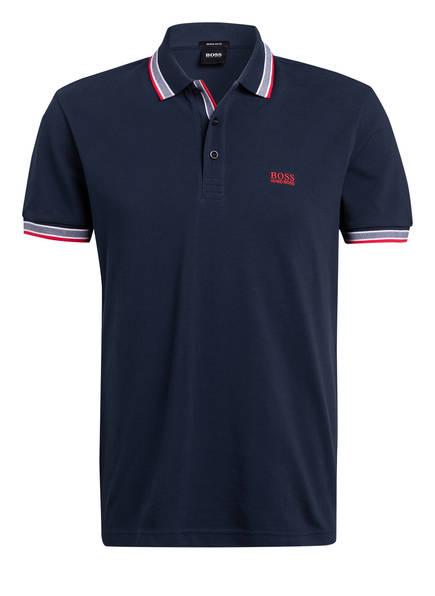 BOSS Piqué-Poloshirt PADDY Regular Fit, Farbe: DUNKELBLAU (Bild 1)