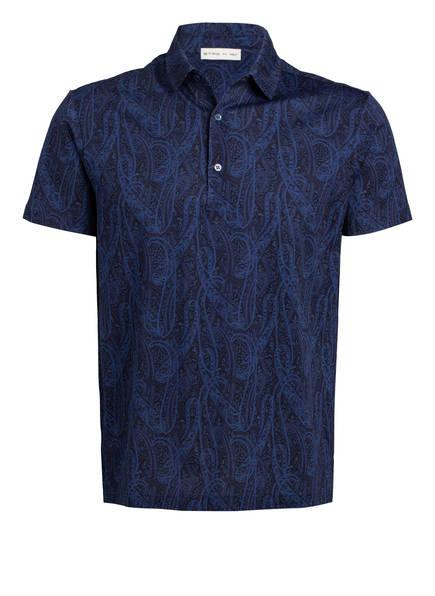 ETRO Piqué-Poloshirt, Farbe: DUNKELBLAU/ GRÜN (Bild 1)