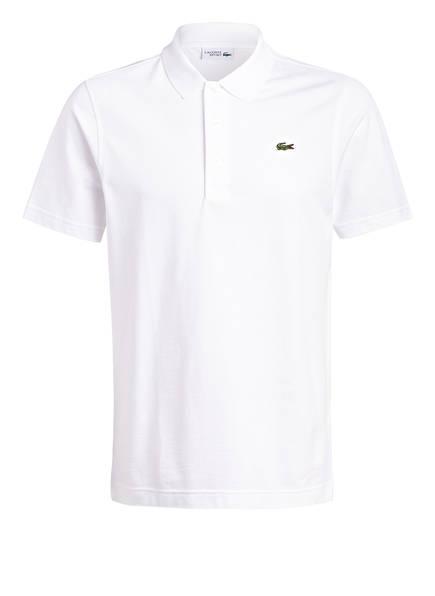 LACOSTE Piqué-Poloshirt, Farbe: WEISS (Bild 1)