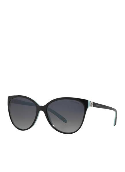 TIFFANY & Co. Sunglasses Sonnenbrille TF4089B, Farbe: 8055T3 - SCHWARZ/ GRAU POLARISIERT  (Bild 1)