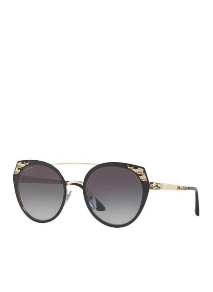 BVLGARI Sunglasses Sonnenbrille BV 6095, Farbe: 20248G - MATT SCHWARZ/ GRAU VERLAUF (Bild 1)
